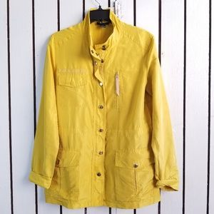 J. CREW Collection Silk Gold Jacket